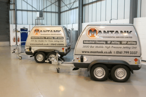 Industrial tank cleaning services by Mantank