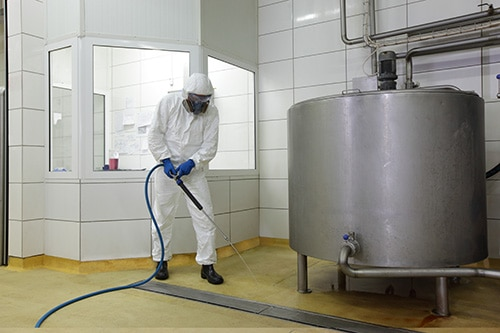 Specialist Industrial Cleaning for manufacturing equipment